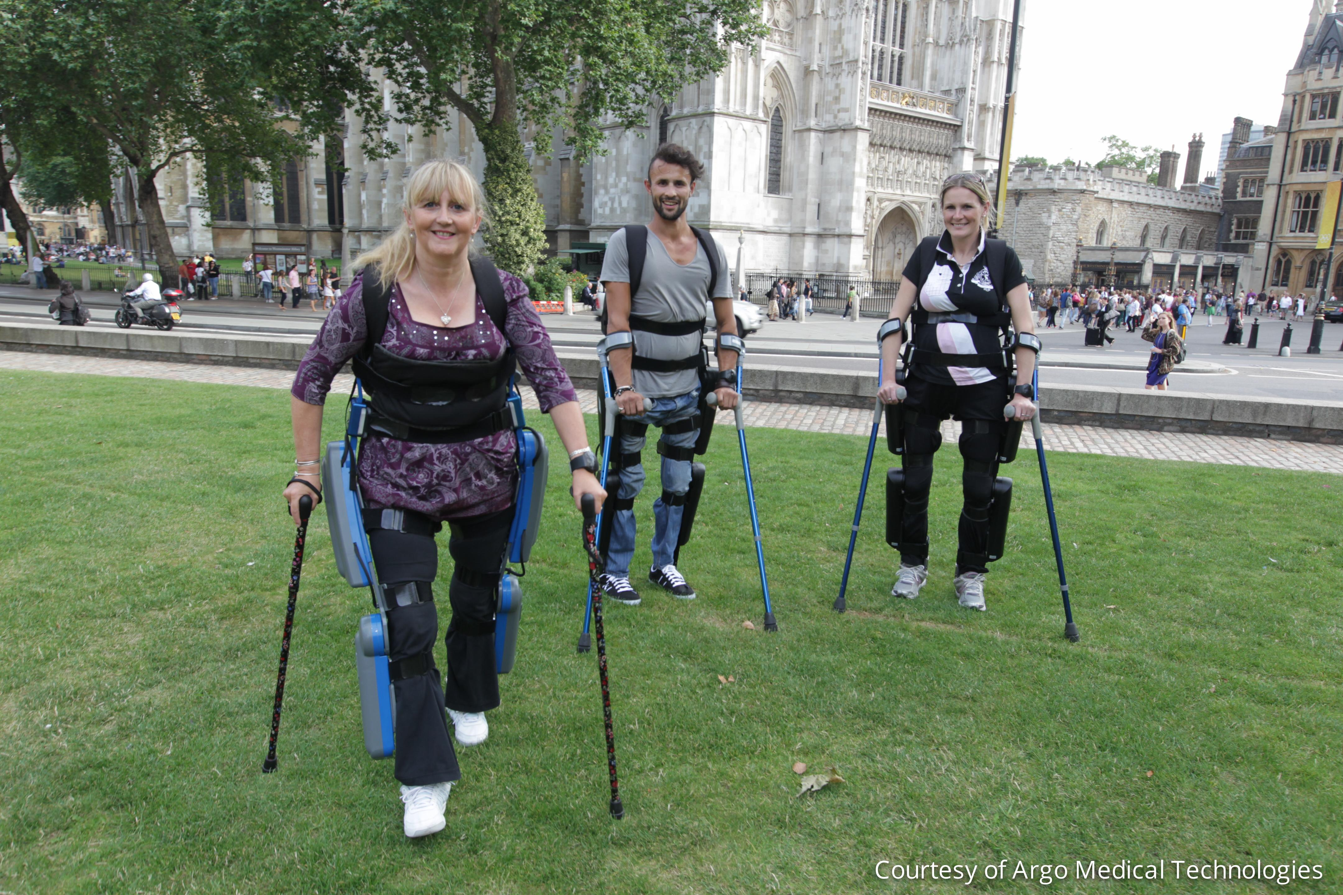 ReWalk is the first FDA-approved personal exoskeleton