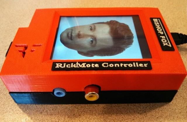 Rickmote Controller rickrolls all nearby Chromecasts
