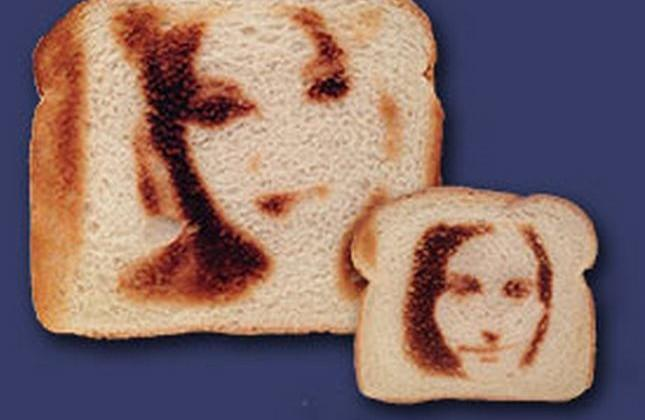 Novelty toaster will burn your selfie into bread