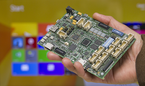 Sharks Cove board – Microsoft and Intel collaborate to take on Raspberry PI