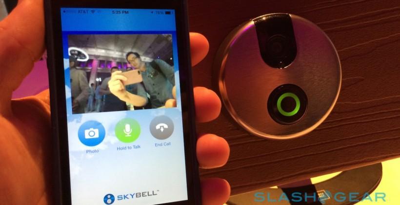 SkyBell WiFi Doorbell hands-on: HomeKit's digital doorman