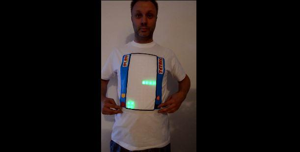 Tetris playable t-shirt is a different kind of wearable
