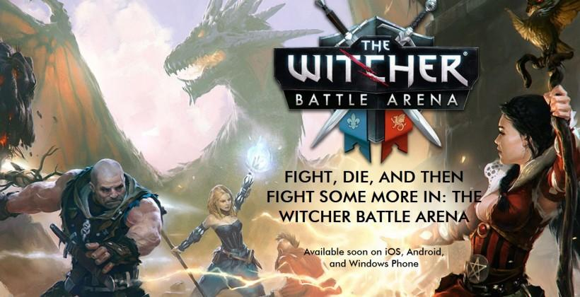 The Witcher Battle Arena MOBA mobile game coming soon