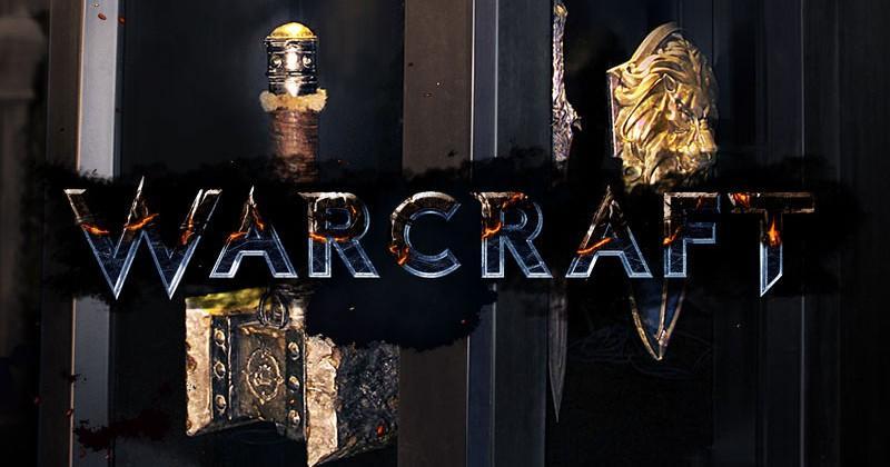 Warcraft film props brought to SDCC floor