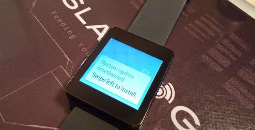 LG G Watch and Samsung Gear Live update KMV78V rolls out