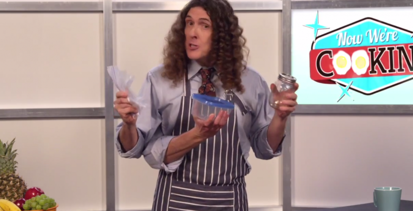 "Lorde's ""Royals"" gets the Weird Al ""FOIL"" parody treatment in music video"