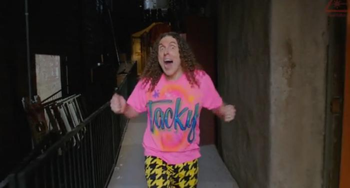 "Weird Al ""Tacky"" music video taps Pharrell's ""Happy"""