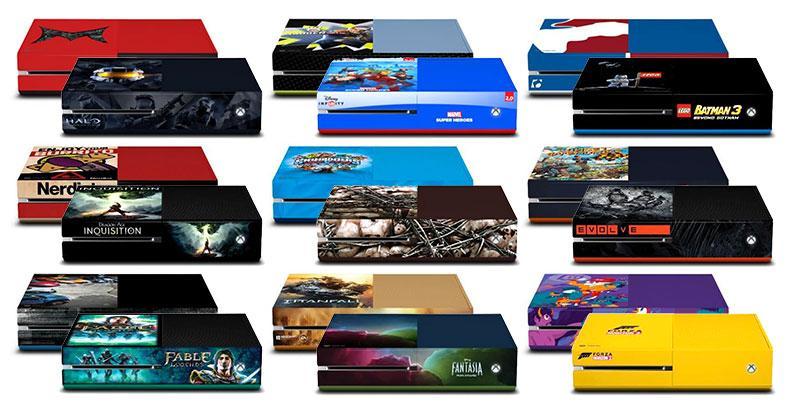 21 unique Xbox One consoles revealed at SDCC