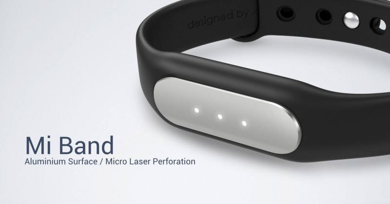 Xiaomi Mi Band is a simple, no-nonsense wearable