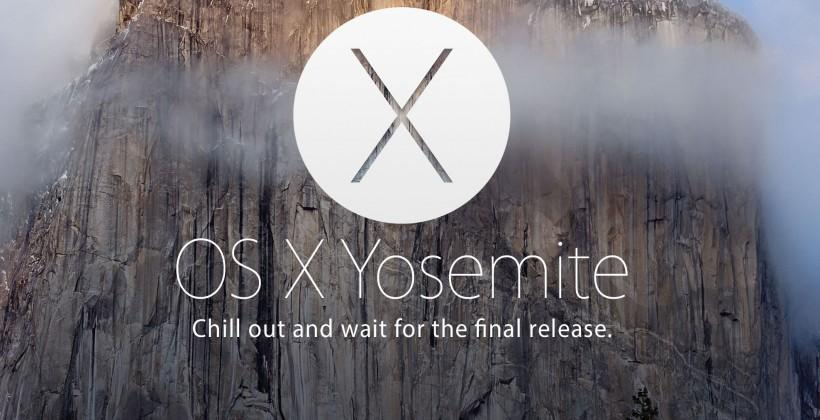 OS X Yosemite: beware the beta