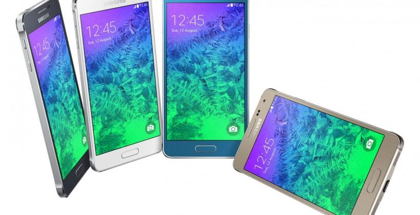 Samsung Galaxy Alpha debuts with premium metal design