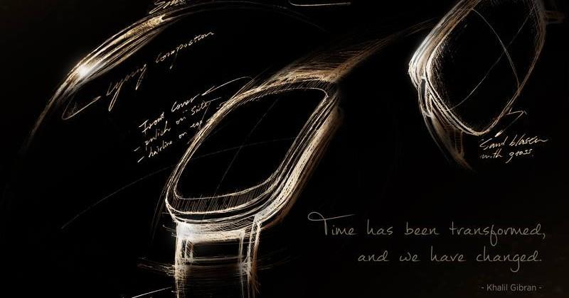 ASUS teases their new, curved smartwatch design