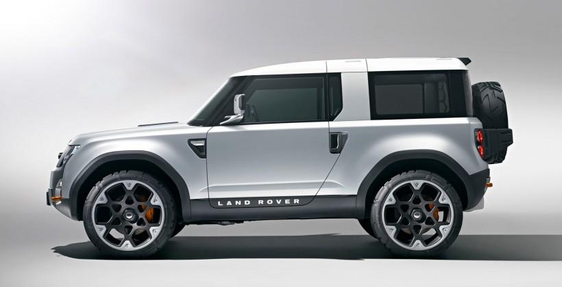 Land Rover Defender's new design finalized, won't be the DC100