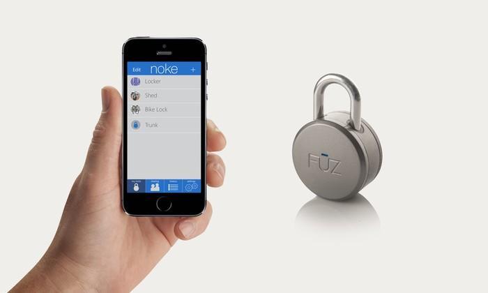 Noke Bluetooth padlock unlocks with a smartphone