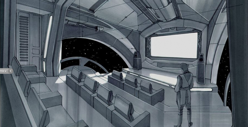 Epic Star Wars home theater designed by TPM master