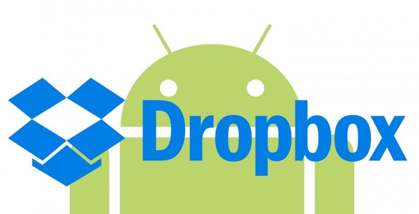 Dropbox Android app improved with redesigned search, preview