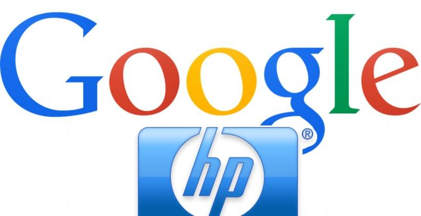 HP may team up with Google for enterprise Nexus, Google Now