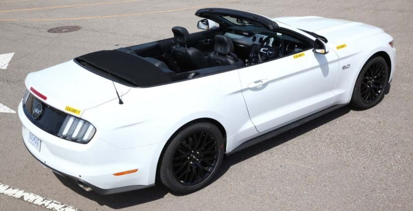 Ford outs first RHD new Mustang prototype