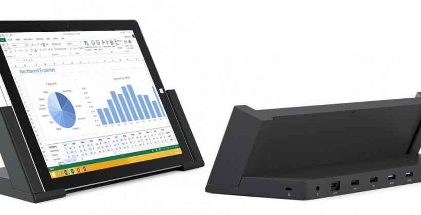 Surface Pro 3 Docking Station hits stores in US & Canada