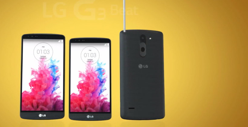 LG G3 Stylus ready to keep up with Galaxy Note 4
