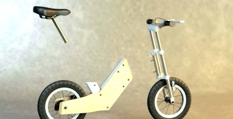 Miilo oneBike transitions from balance to pedal bike with ease
