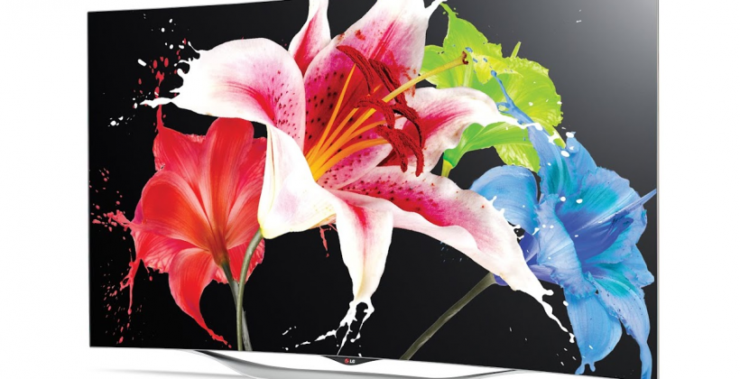 LG's latest Curved OLED TV tries to push tech mass-market