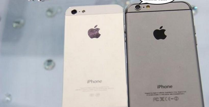 iPhone 6 vs iPhone 5s: the latest photos and details