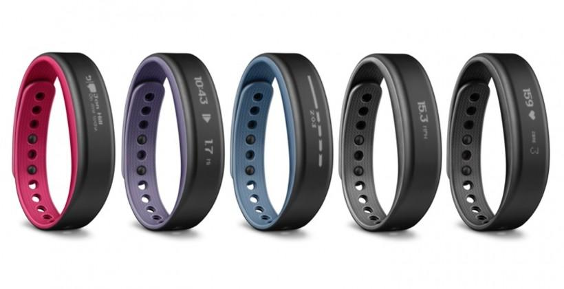 Garmin's new vivosmart keeps you on track and in shape