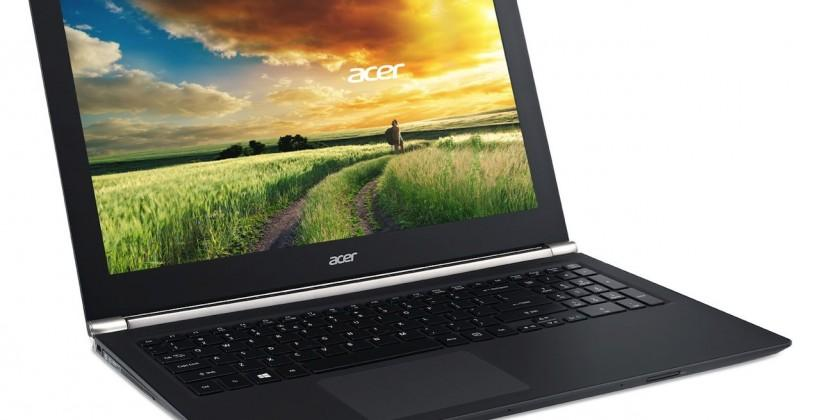 Acer Aspire V Nitro gaming notebooks arrive alongside 4K2K LCDs