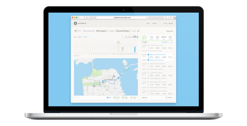 Automatic now offers granular web-based car stats
