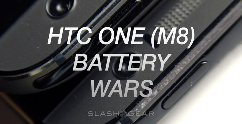 HTC One M8 Windows vs Android Battery Wars