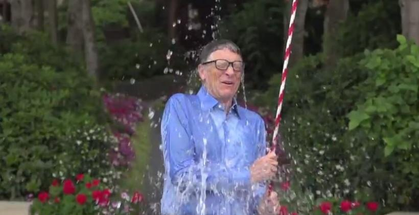 Ice Bucket Challenge: Bill Gates takes the plunge