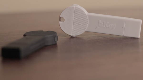bKey: a backup smartphone battery the size of a car key