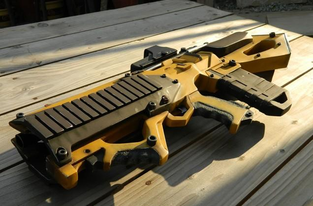 Borderlands Dahl assault rifle, real-life edition
