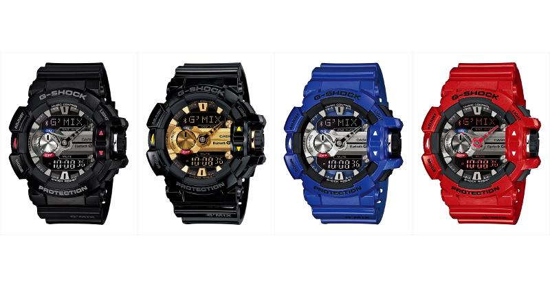Casio G-SHOCK GBA-400 puts features where they belong
