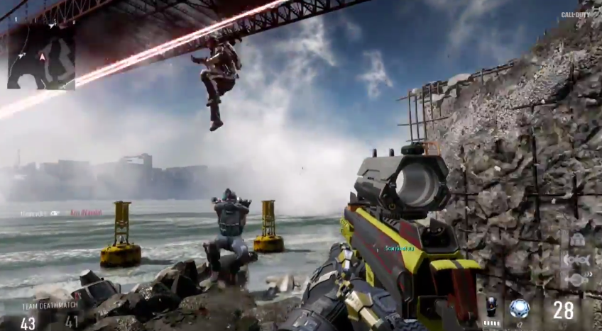 Cod Advanced Warfare Multiplayer Detailed Exos And Day Zero Edition Slashgear
