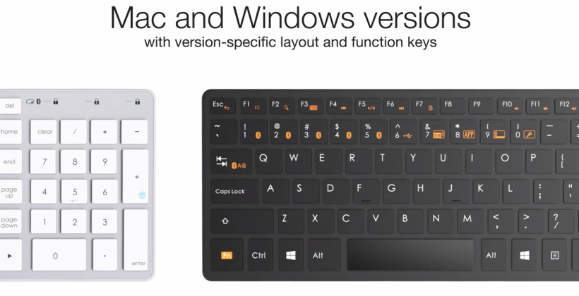 Satechi BT Smart Keyboard takes on Apple for desktop and mobile