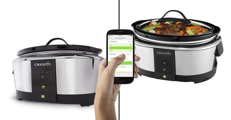 Crock-Pot hits market with WeMo smartphone control