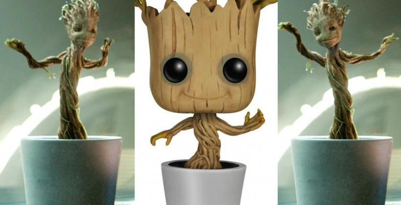 Baby Dancing Groot toy released by Funko