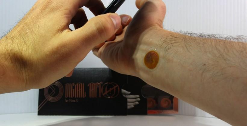Digital Tattoos drop the Moto X requirement soon