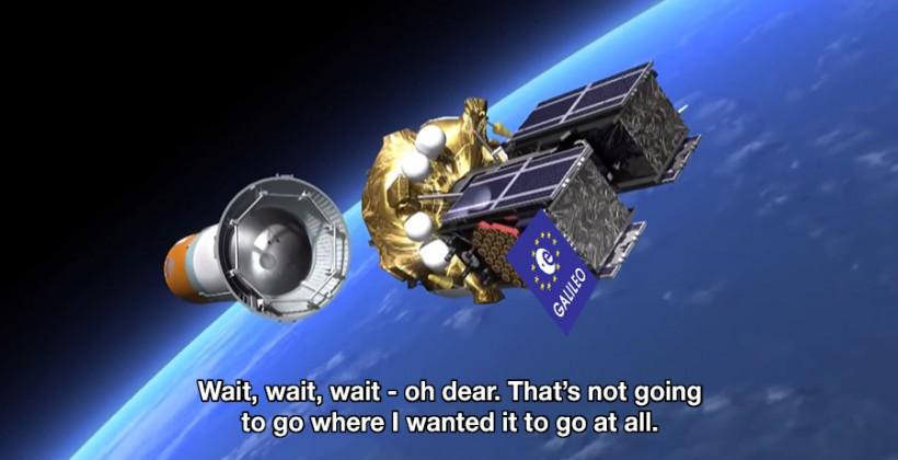 Galileo satellites launched into wrong orbit around Earth
