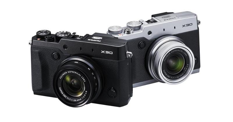 Fujifilm X30 boasts Real Time Viewfinder, Film Simulation modes