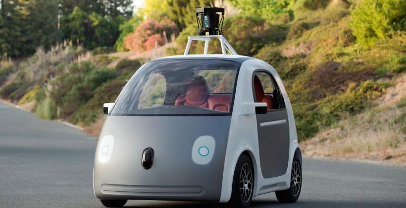 Google's self-driving cars still need controls says DMV
