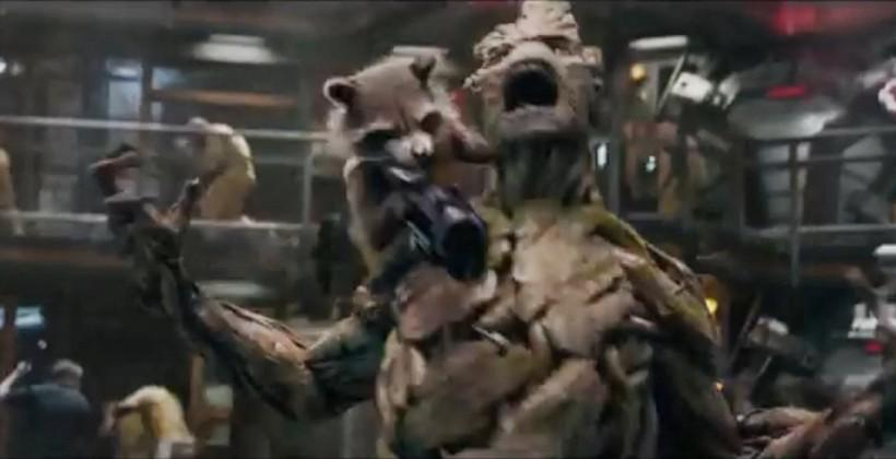 Rocket Raccoon's creator gets private Guardians screening at care facility