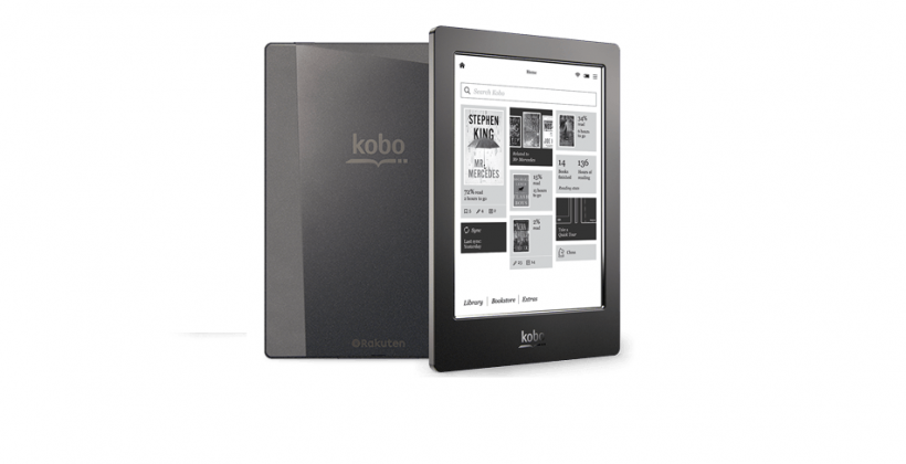 Kobo Aura H2O ereader makes your digital books waterproof