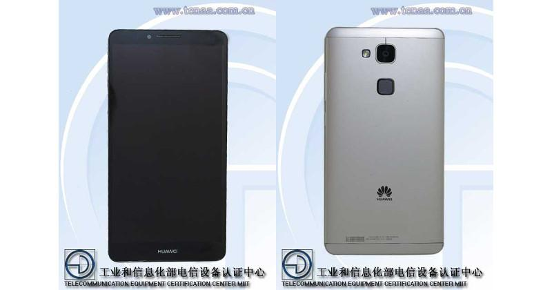 Huawei Ascend Mate7 certified and revealed in TENAA