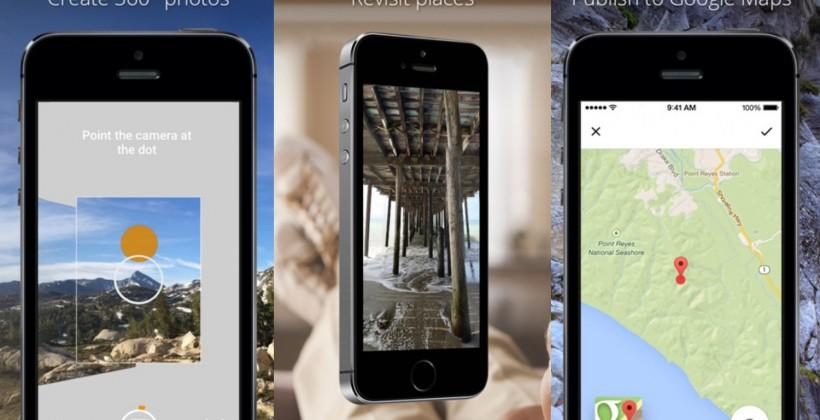 Google releases Photo Sphere Camera app for iOS