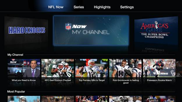 NFL Now officially lands on Apple TV