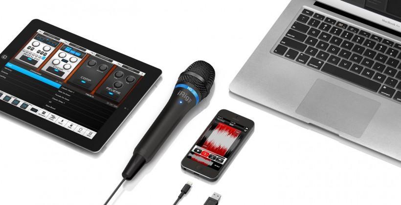 iRig Mic HD plugs audio straight into your iPhone