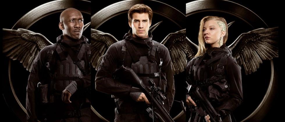 "Hunger Games: Mockingjay ""Rebels"" ideal for wallpaper"